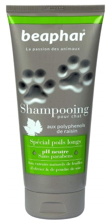 Shampoing pour chat POILS LONGS chaton ph neutre sans paraben BEAPHAR top 5