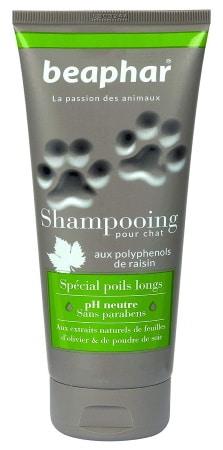 Shampoing pour chat POILS LONGS chaton ph neutre sans paraben BEAPHAR top 5