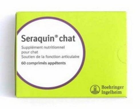 Supplément nutritionnel chat BOEHRINGER Seraquin 200 comprimés TOP 3