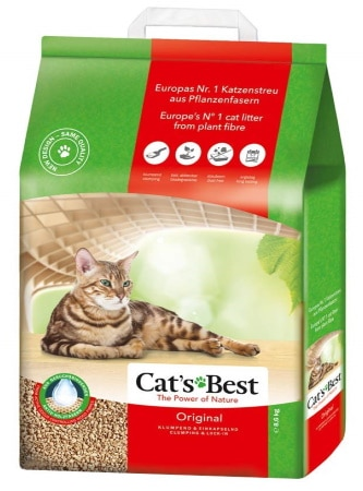 Litière pour chat CAT'S BEST agglomérante TOP3