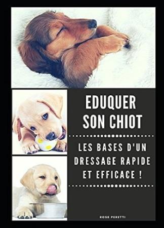 Livre pour éduquer son chien BASE RAPIDE EFFICACE CHIOT top 5