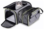 Miniature sac transport chat DADYPET Extensible Souple Pliable avec tapis TOP 5