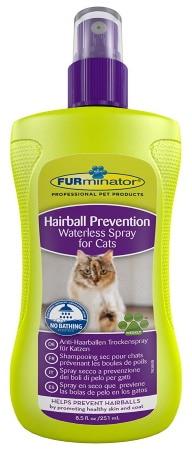 Shampoing pour chat SANS RINÇAGE à sec contre boules de poils chaton FURMINATOR top 5