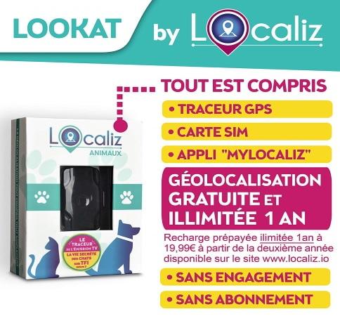 Traceur GPS pour chat LOCALIZ top 4