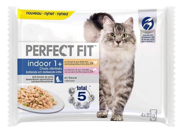 Croquettes pour chat stérilisé PERFECT FIT d'intérieur