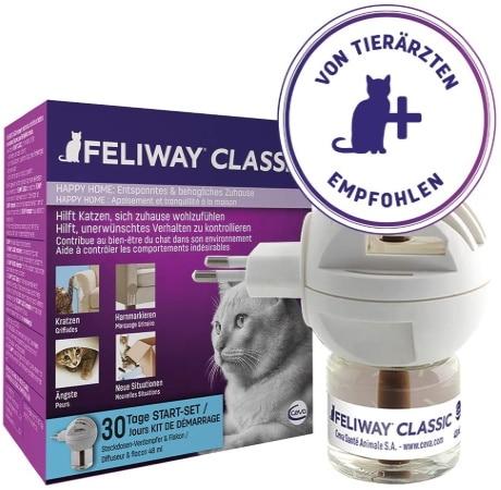 Diffuseur électrique pour chat pour lutter contre le stress FELIWAY, contre marquage urinaire, griffures, ou autre comportements indésirables animal