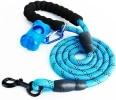 Laisse chien corde réfléchissante solide, idéal pour chien qui tire, sécurité couleur bleu, vert, noir, rose, rouge, violet, toute taille d'animal costaud top5