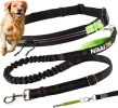 Laisse chien jogging ou course à pied, comme pour courir avec votre animal de compagnie en running et canicross avec ceinture abdominal 120 cm top5