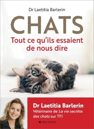 Livre sur tout ce qu'essaient de nous dire les chats et vie secrète avec vétérinaire top5