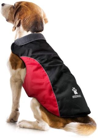 Manteau pour chien hiver taille XS, S, M, ou L, imperméable hiver avec doublure polaire et bandes réfléchissantes de sécurité, veste chaude animal