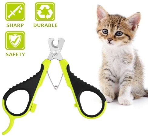 Coupe griffe pour chat professionnel durable inox ciseau à ongles chaton acier pour animal de compagnie WIMAHA top3