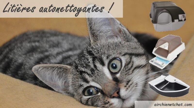 Les meilleurs bac à litière autonettoyant pour chat manuel, électrique ou automatique top3